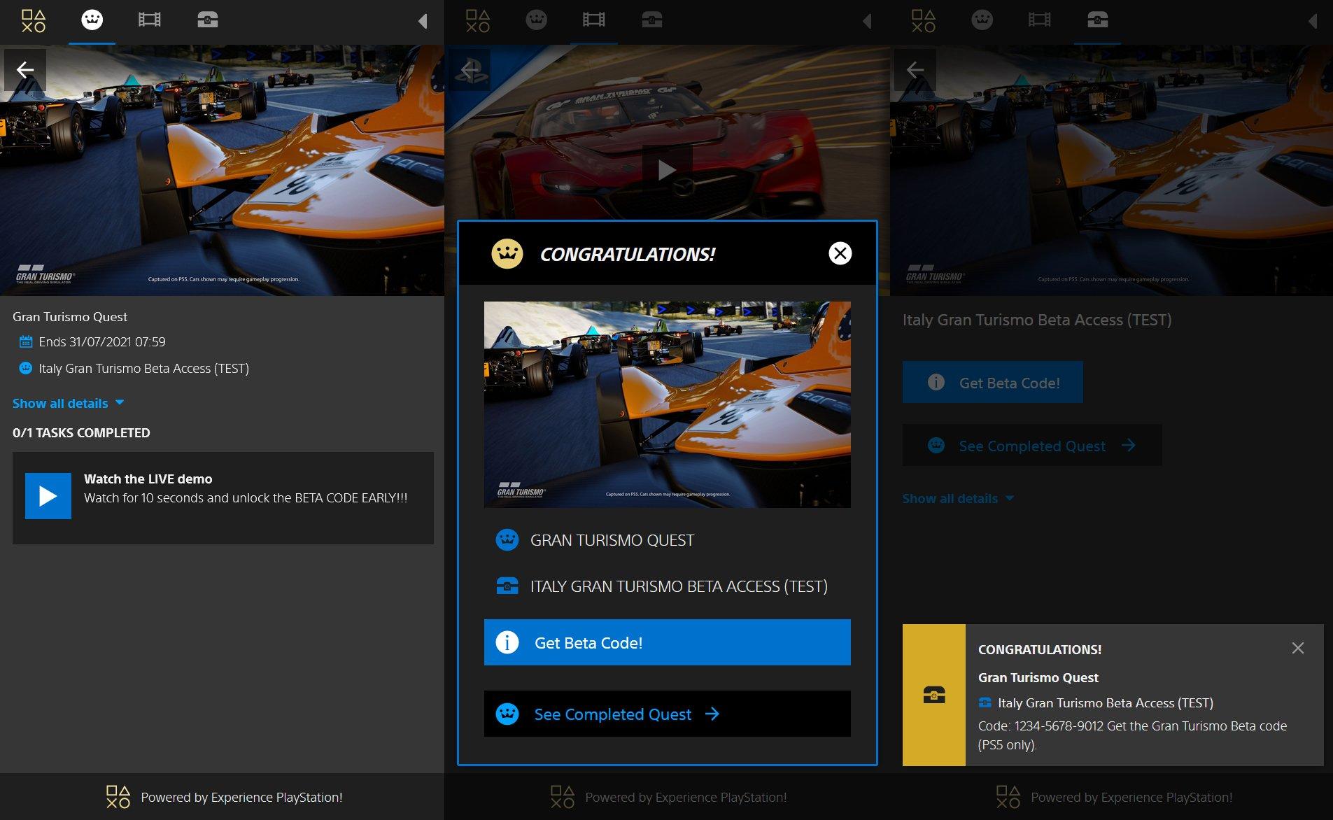 Gran Turismo 7 Beta