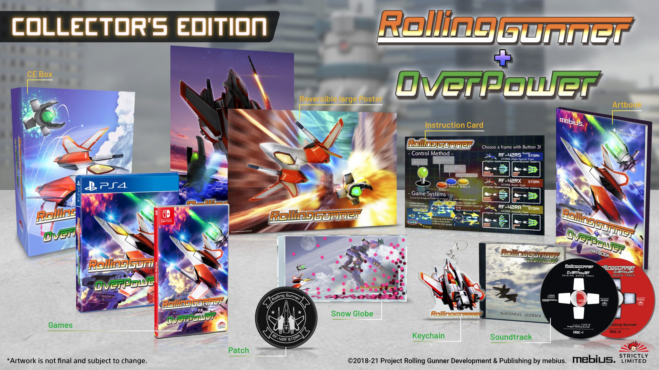 Rolling Gunner Strictly Limited