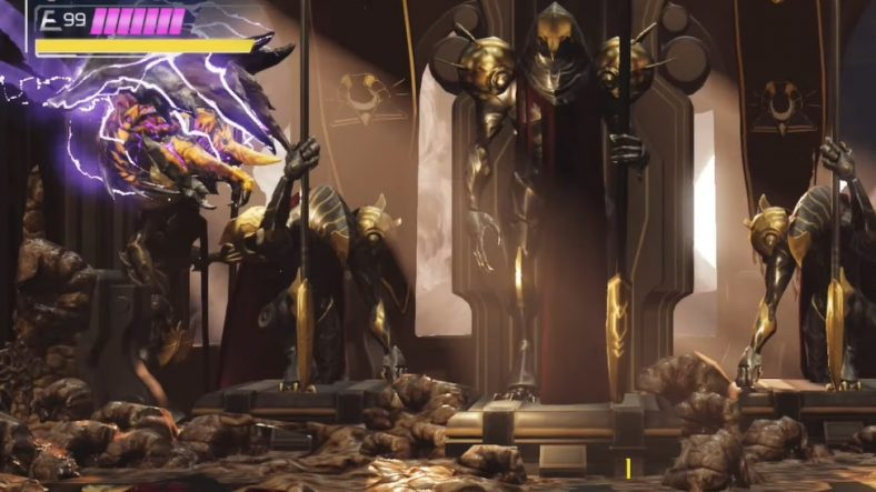 Panduan Bos Escue Metroid Dread